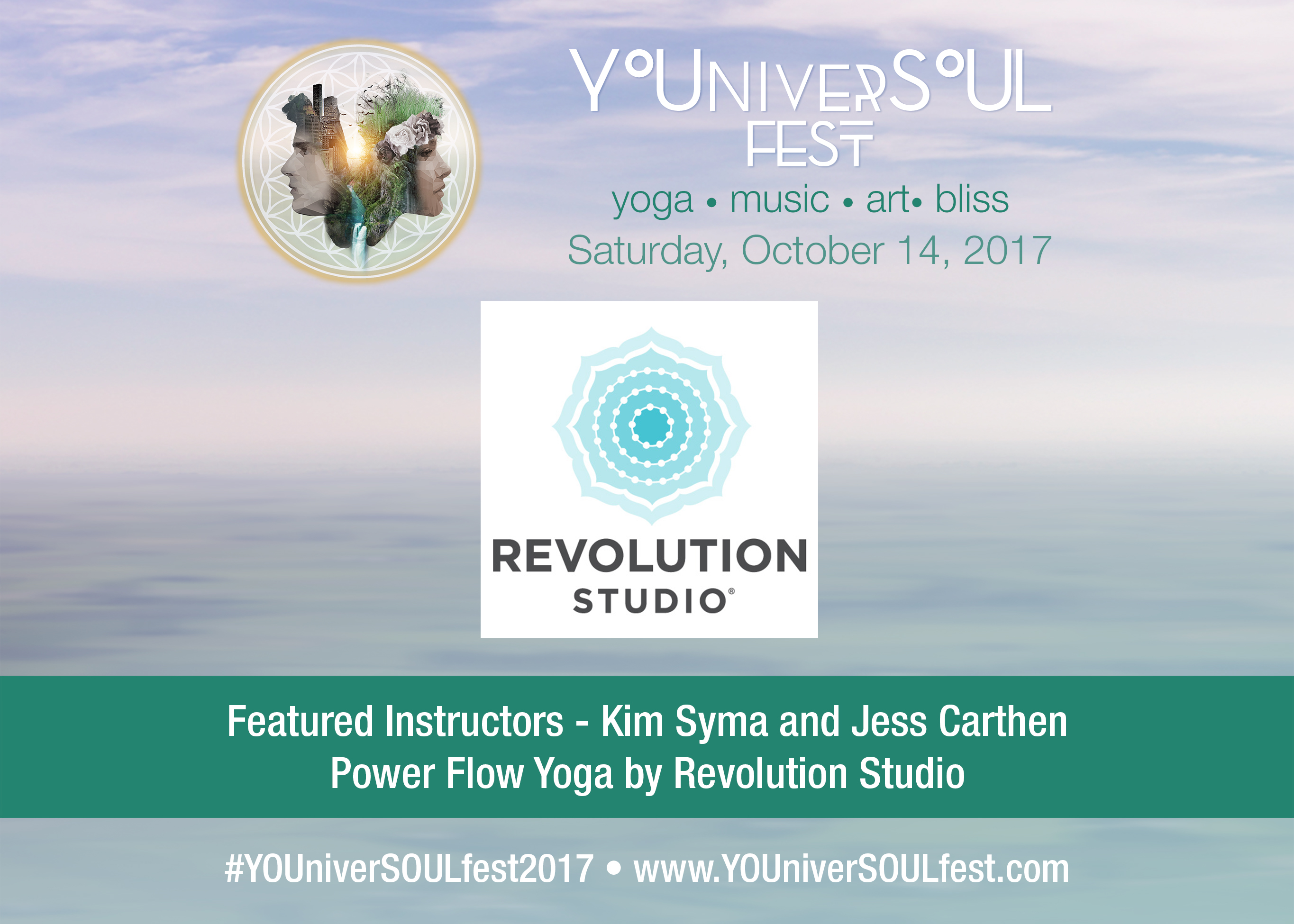 Power Flow Yoga by Revolution Studio featuring Kim Syma and Jess Carthen