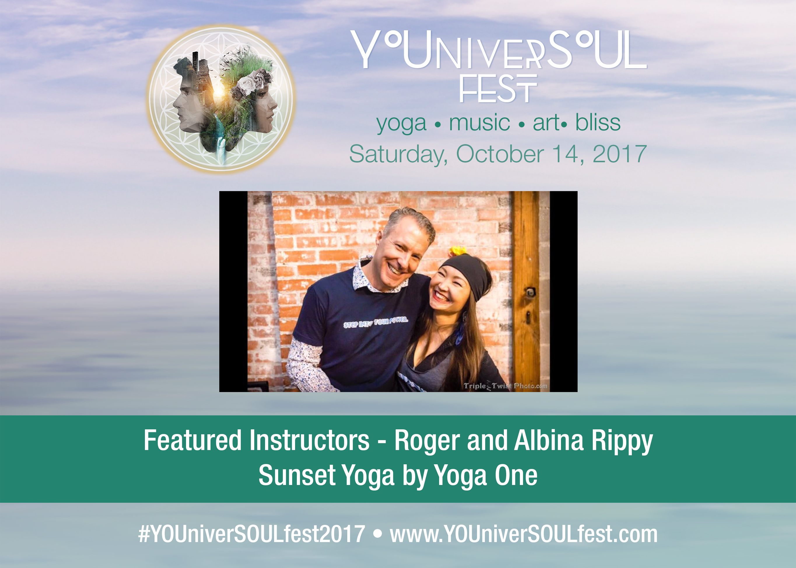 Sunset Yoga by Yoga One featuring Roger and Albina Rippy